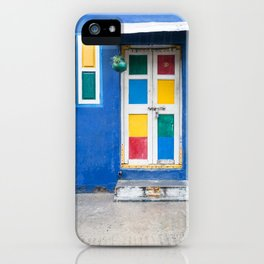 Colorful Indian Door iPhone Case