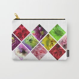 Geometry Flowers Carry-All Pouch