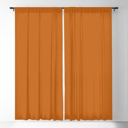 Autumn Maple   Pantone Fashion Color   Fall : Winter 2017   New York   Solid Color   Blackout Curtain