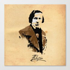 Frederic Chopin - Polish Composer, Pianist Canvas Print