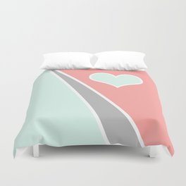 Love Pastel Duvet Cover