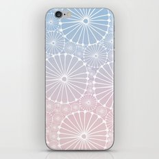 Abstract Floral Circles 8 iPhone & iPod Skin