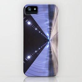 Adit Azure iPhone Case