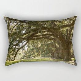 Oak And Moss Rectangular Pillow
