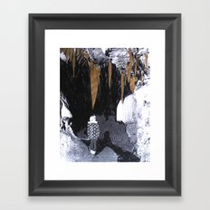 Cave Drawing VIII Framed Art Print