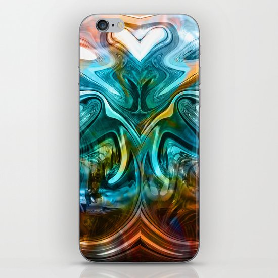 liquified time iPhone & iPod Skin