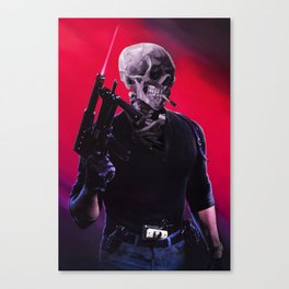 Cobra Skeleton Canvas Print