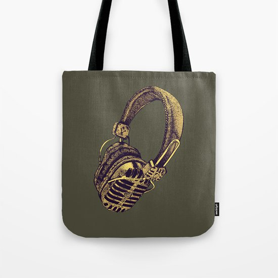 HEAD PHONE Tote Bag