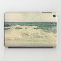 salt water iPad Cases featuring Salt Water Cures by V. Sanderson / Chickens in the Trees