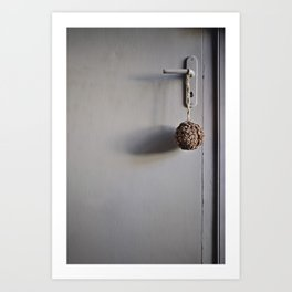 Door from Boulogne Art Print