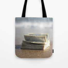 Book on the Beach Tote Bag
