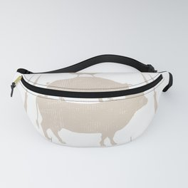 Cow Pig And Chicken Funny BBQ Farmers Gift For Joke Lovers Fanny Pack