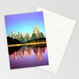 Grand Tetons 🌄 Purple Reflection Stationery Cards