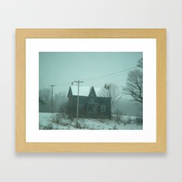 The Farm Framed Art Print