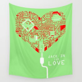 Jack In For Love Wall Tapestry