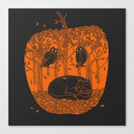 Pumpkin Story. Chapter 1 Canvas Print