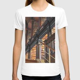 Trinity College Library Long Room Dublin, Ireland color photography / photographs T-shirt