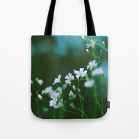 forever young Tote Bags featuring Forever Young by Alisha Greenlaw