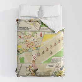 Tour de France Comic Book Comforters