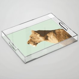 The Lioness Acrylic Tray