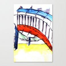 Experimentation of Color Canvas Print