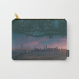 Dark San Francisco Sunset Bridge (Color) Carry-All Pouch