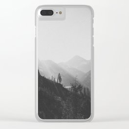 THE MOUNTAINS IX / North Cascades Clear iPhone Case
