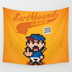 Earthbound & Down Wall Tapestry