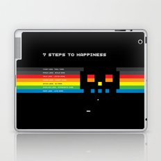 7 Steps To Happiness Laptop & iPad Skin