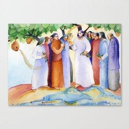 Risen Christ Canvas Print