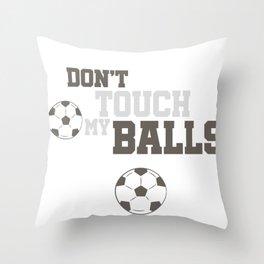 Football Training Club Ball Gift Throw Pillow