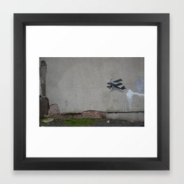 come fly with me part 1 Framed Art Print