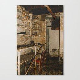 Basement Canvas Print