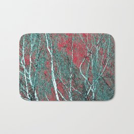 BIRCH in the AUTUMN Bath Mat