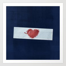 Red Valentine Art Print