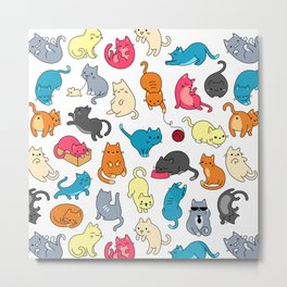 hey kitty kitty Metal Print