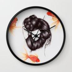 Hair Sequel II Wall Clock