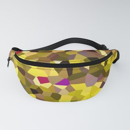 Tulips in Sunshine Red Pink Yellow Fanny Pack