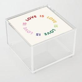 Love Is Love Acrylic Box