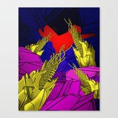 AUTOMATIC WORM 6 Canvas Print