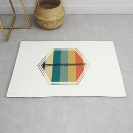 Colorful Clarinet Rug