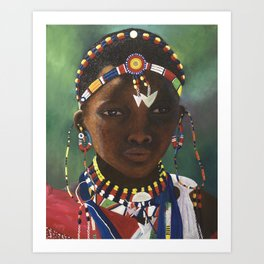 Children of the World IV Art Print