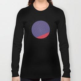 Retro Mod Flowers #5 by Friztin Long Sleeve T-shirt