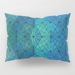 Blue Mosaic Pillow Sham