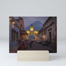 Santa Catalina Arch at Night Mini Art Print