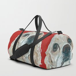 Lola the Cocker Spaniel Duffle Bag