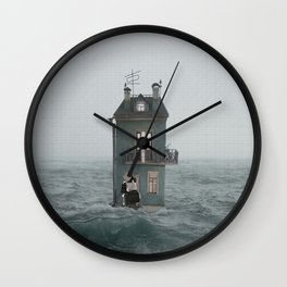 Departure Wall Clock