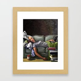 Death of a Student Framed Art Print