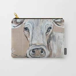 """""""Marge""""  the Cow Carry-All Pouch"""