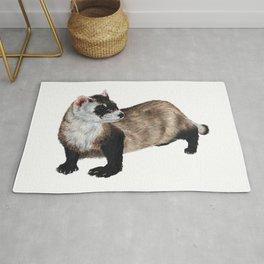 Black-Footed Ferret Rug